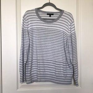 BANNANA REPUBLIC • Stripe Crew Neck Sweater Sz XXL
